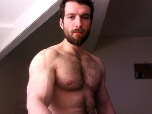 Ist hairy daddy muscle naked