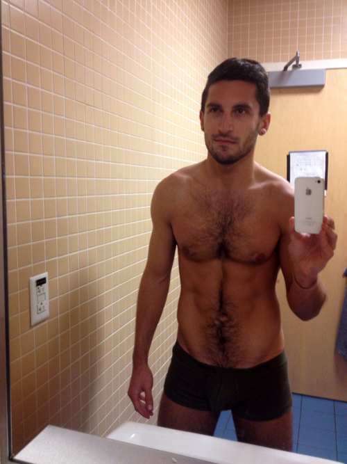 Naked Guy Selfie 2