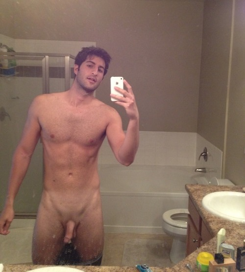 Naked Guy Selfie 41