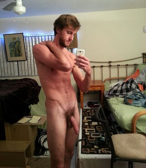 Naked Guy Selfie 54