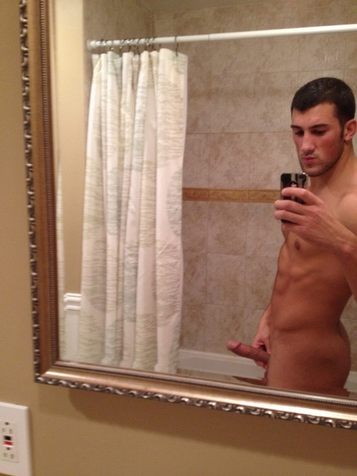 Naked Guy Selfie 7