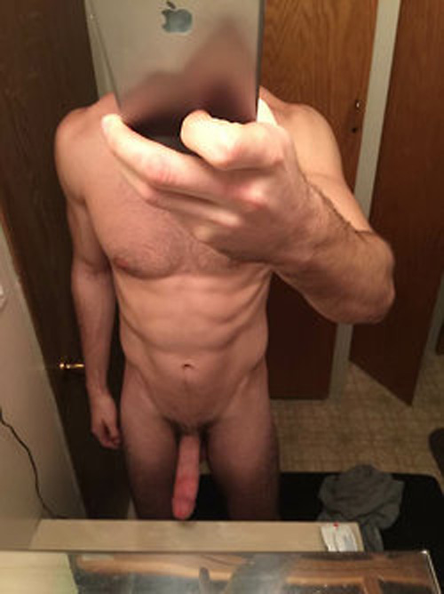 Naked Guy Selfie 8