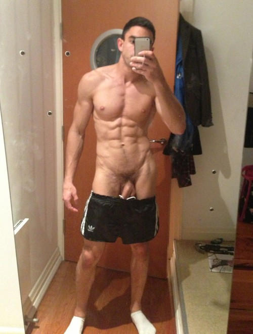 Naked Guy Selfies 1