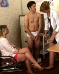CFNM - Charlie Was Sent to See the School Headmistress