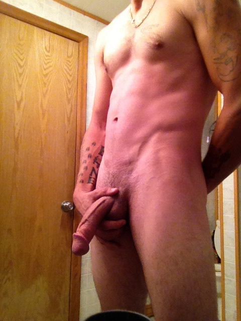 Naked Guy Selfie 3
