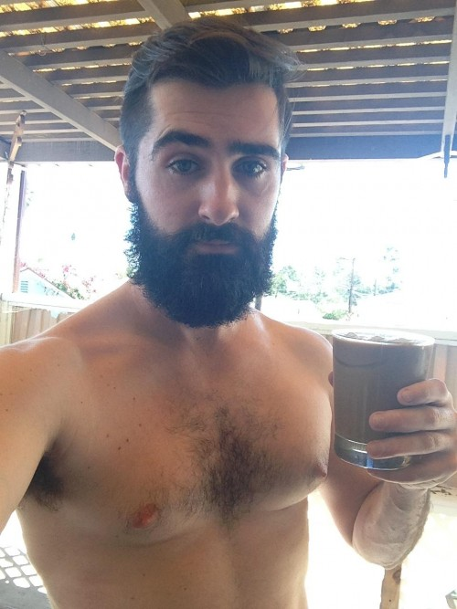Naked Guy Selfie 1