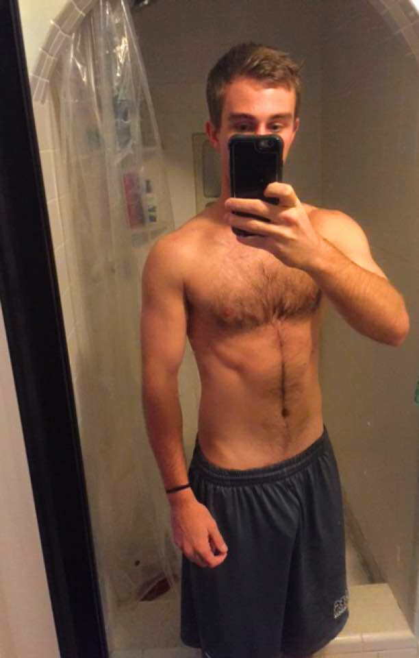 Teen male selfie Hairy