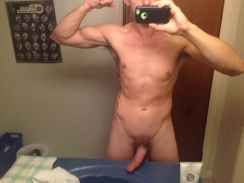 Naked Guy Selfie 5