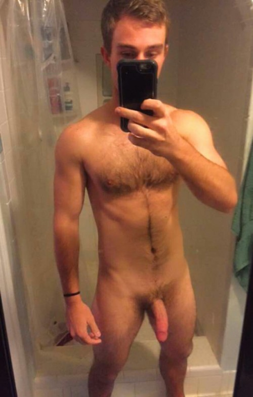Naked Guy Selfie 9