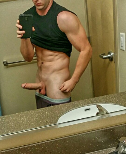 selfie dick guy hot