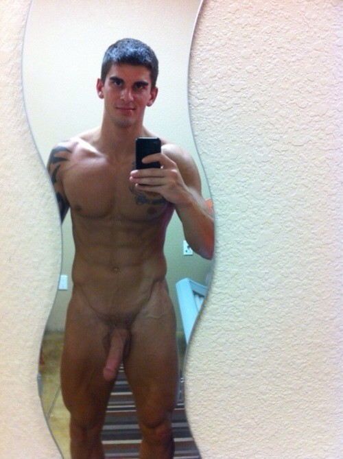Naked Guy Selfie 6